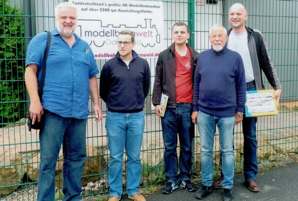 Joachim Franke, Sebastian Nicolai (Vors.), Philip Pieper, Ernst Penner, Uwe Bohländer (v.l.)